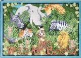 Joy Carpets Kid Essentials Language & Literacy Wild About Books Rug, Multicolored, 5'4'' x 7'8'' by Joy Carpets