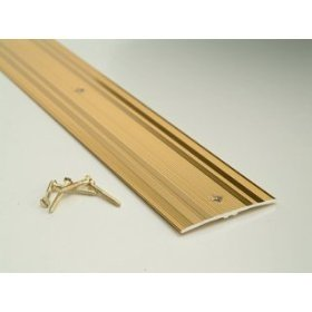 Carpet Cover Strip Extrawide   Gold   900mm