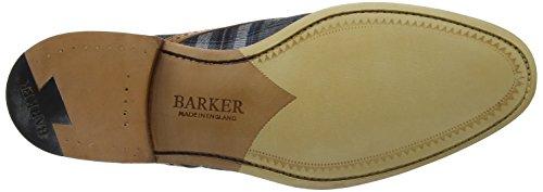 Barker Herren Hursley Oxfords Blu (cedro Vitello / Blu Check)