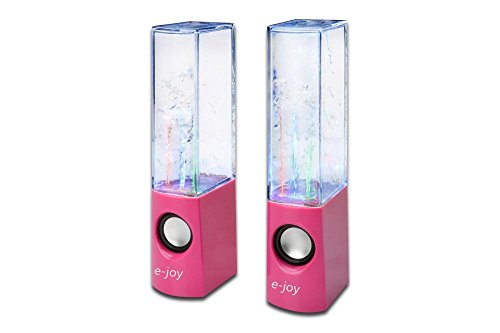 e-joy Dancing Water Speaker (Red)