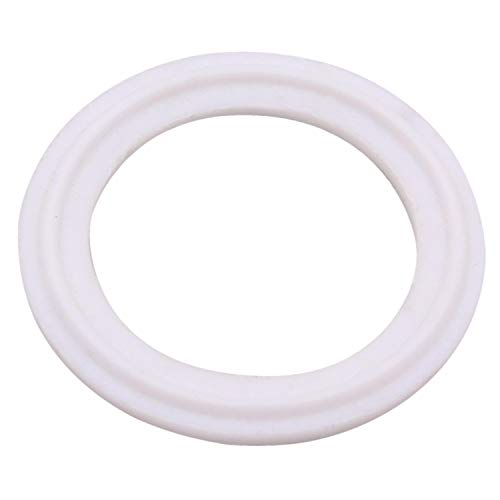 (Dernord Tri-Clamp Gasket PTFE (Teflon) O-Ring - 6 Inch Style Fits OD 168MM Sanitary Pipe Weld Ferrule (Pack of 1))