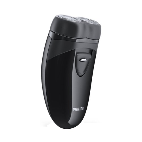 Philips Men's Electric Travel Shaver PQ203/17 with Travel Pouch (Cordless)