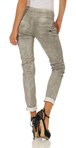 Pantalones Vista Buena de C Anna Stretch Mujer Vaqueros Sarga Pv5qW5gw4