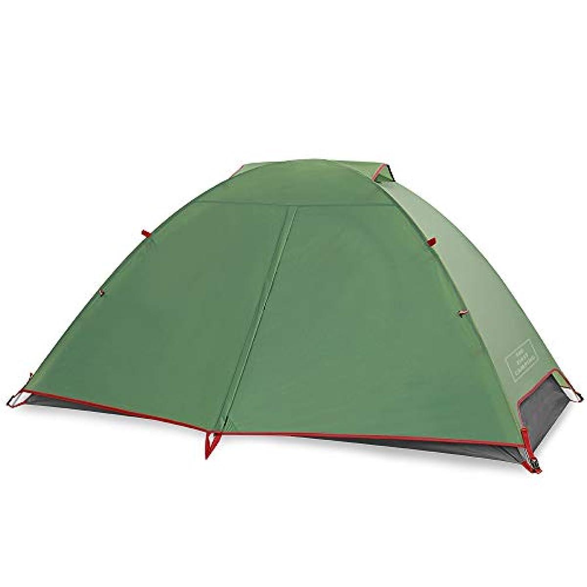 [해외] THE FIRST CAMPING 돔 2명 용 텐트 투어링(touring) 솔로 1명 용 텐트 투어링(touring) 돔 한 사람용 초경량 텐트 방풍 등산