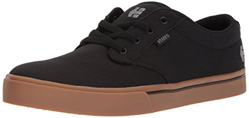 Etnies Men's Jameson 2 ECO Skate Shoe, Black/Gum/Silver, 8 Medium US