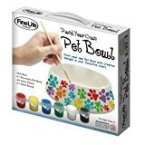 - FineLife Home Decorative Personalized Ceramic Pet Food Feeding Bowl