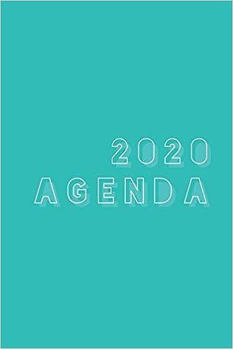 2020 Agenda: A Simple & Modern Weekly Planner : 6x9 Satin ...