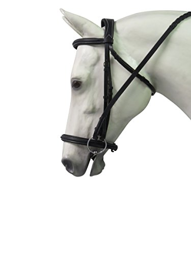Henri de Rivel Pro Mono Crown Padded Bridle with Laced ()