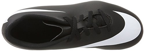 Ii – Nike Firm Black Unisex Scarpe Nero White Kids 001 fg Calcetto Da Bravata Bambini black Jr Indoor gr qtnBW1t