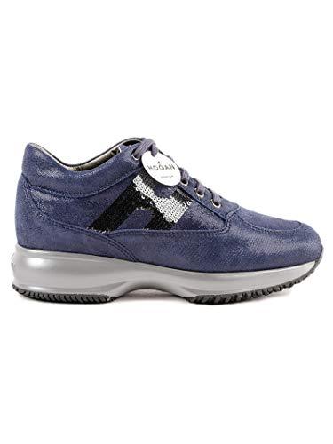 Tela Azul Mujer HXW00N05640FEVU805 Zapatillas Hogan 0tFw7qfF