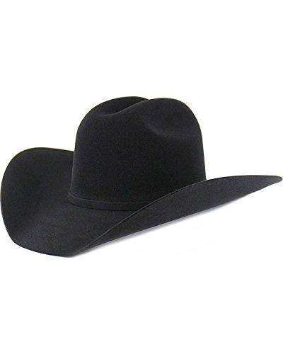Cody James Men's 10X Fur Felt Hat Black 7 1/4 by Cody James