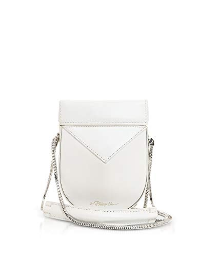 Shoulder 3 Lim 1 Leather Women's AP18A020SZOWH100 Phillip Bag White xxqH4SvRnz