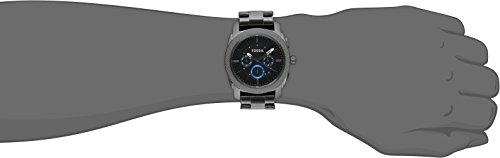 Fossil-Mens-FS4931-Machine-Gunmetal-Tone-Stainless-Steel-Bracelet-Watch