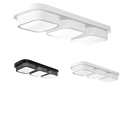DADEQISH DADEQISH DADEQISH Moderne 3 Kopf Deckenleuchte für Restaurant Wohnzimmer Schlafzimmer Home Decoration Innenlicht (Farbe   schwarz Light Warm Light) B07MYLRPB5 | Bekannt für seine hervorragende Qualität  57fa03