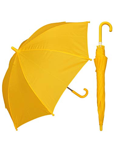 RainStoppers W101CHYELLOW 34-Inch Children's Umbrella, -