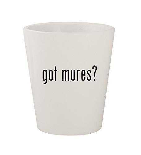 got mures? - Ceramic White 1.5oz Shot Glass