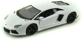 1/18scale ブラゴ BURAGO Lamborghini Aventador LP700-4 ホワイト ランボルギーニ アヴェンタドール アメリカ直送