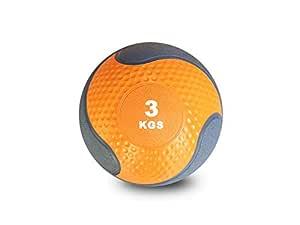 Dawson Sports Rubber Medicine Weight Ball 3 Kg - Orange