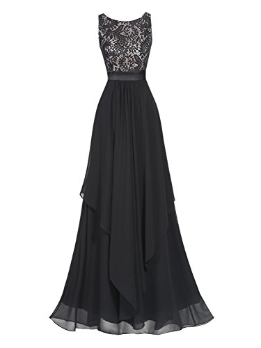 long black evening dress size 16 - 3