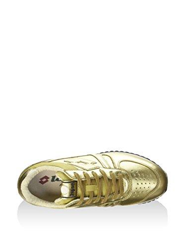 Lotto Antique Tokyo Shibuya Star Gold Giallo 37 Pelle Donna White Leggenda Sneakers Eu rFr0gU