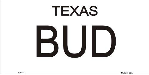 62a1f023 Amazon.com: Bud and Sissy Texas License Plates Tags Urban Cowboy: Automotive