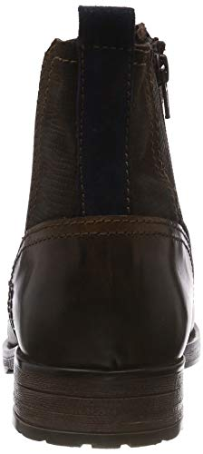 Homme Bottes 5 9 Dark UK Brown Chelsea 302 15400 21 s Oliver 5 Marron R4qc0T0