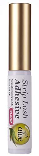 KISS Strip Eyelash Adhesive, Clear 0.21 oz (Pack of 7)