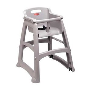 Youth High Chair Platinum Include Wheels  sc 1 st  Amazon.com & Amazon.com : Youth High Chair Platinum Include Wheels : Childrens ...