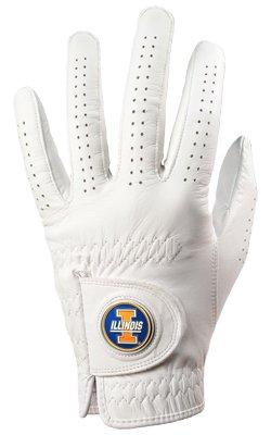 Illinois Fighting Illini Golf Glove & Ball Marker – Left Hand – Medium   B00BFLO68U