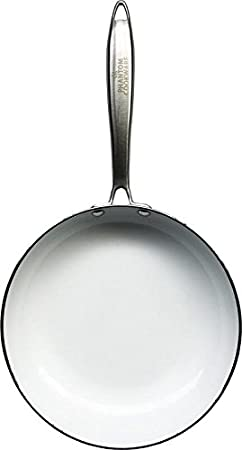 Phantom Cookware Ceramic Frying Pan (9.5): Premium Non-Stick Pan For Healthy And Easy Cooking, Non-Scratch Coating, Strong Aluminum And Copper ...