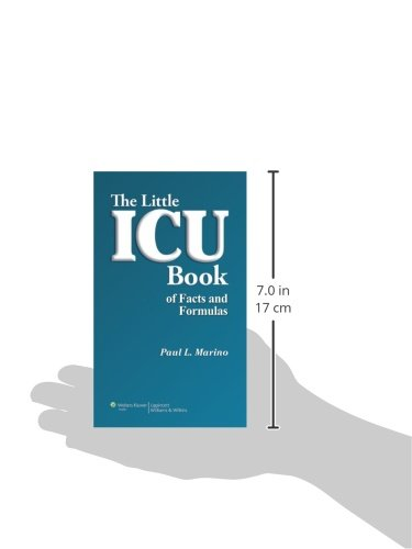 The little icu book of facts and formulas paul l marino md phd the little icu book of facts and formulas paul l marino md phd fccm 9780781778237 critical care amazon canada fandeluxe