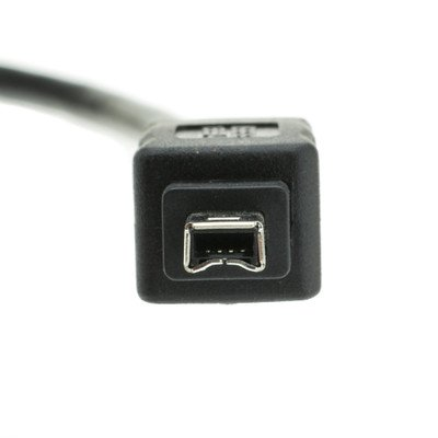 15ft Black Firewire 400 9 pin / 4 pin cable, IEEE 1394a Cable ( 20 PACK ) BY NETCNA by NETCNA (Image #3)