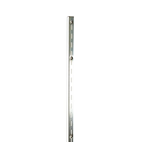 Econoco SS12/48 Heavy Weight Single Slot Standard with 1/2'' Slots on 1'' Centers, 48'' (Pack of 10) by Econoco