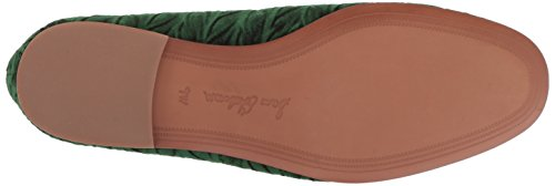 Emerald Women's Sam Loraine Edelman Velvet Loafer cIUqgHU