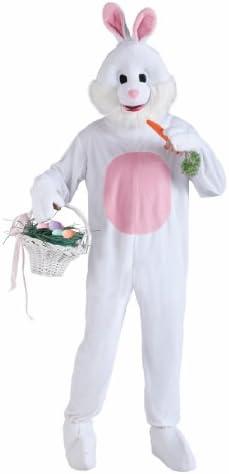 [해외]Forum Novelties 남성용 플러시 토끼 마스코트 의상 / Forum Novelties 남성용 플러시 토끼 마스코트 의상