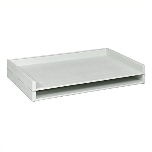 Safco Products 4897 Giant Stack Tray for 24'' x 36'' Documents, White by Safco Products