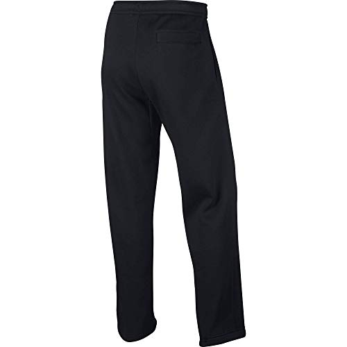 Nike Men's Sportswear Open Hem Club Pants, Black/White, ()