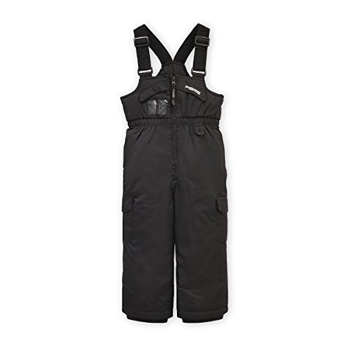 Fera Kids Frosty Bib, Black, 7 ()