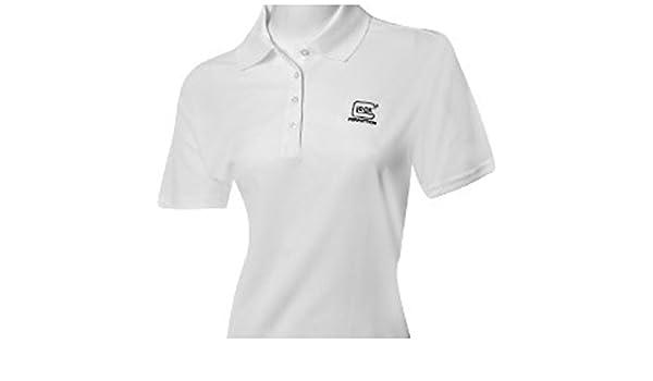 Glock – Camiseta Core 365 Polo de las mujeres - AA47002, Blanco ...