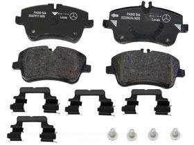 Mercedes w203 Brake Pad Set Front GENUINE pads caliper friction liner liners