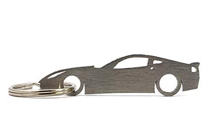 Boostnatics Silhouette Llavero para Chevrolet Corvette C7 ...
