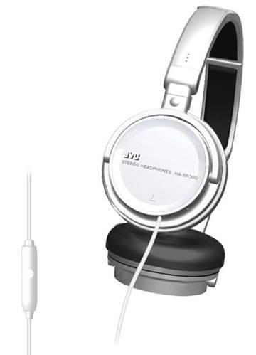 JVC HA SR500 W Casque audio arceau Blanc: High tech