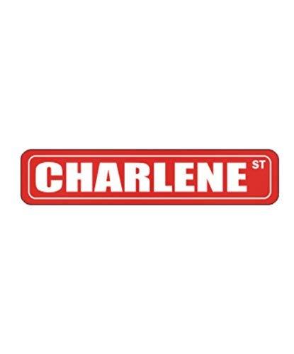 Charlene Street - Female Names - Street Sign Aluminum Metal - 4x18 inch ()
