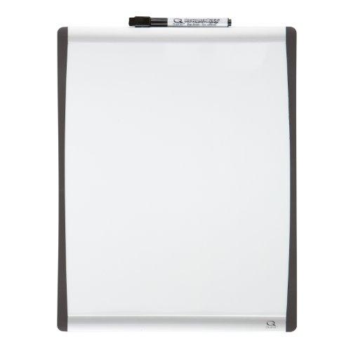 Quartet Magnetic Dry Erase Board, 11 x 14 Inches, Black/Silver Frame (79367) (11x14 Dry Erase)