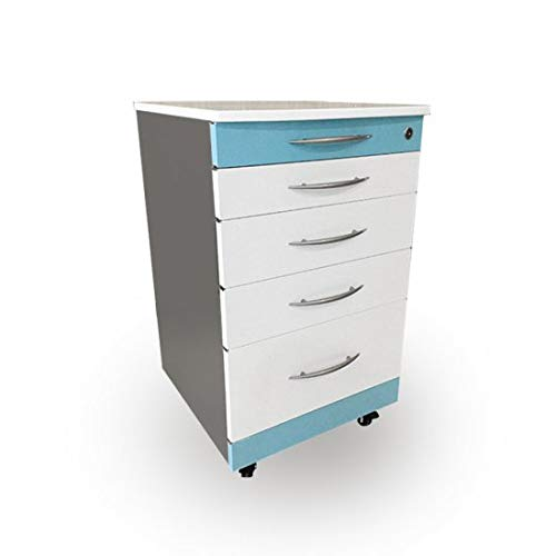 le Dental Cabinet Cart 4 Drawers Storage Supply ()