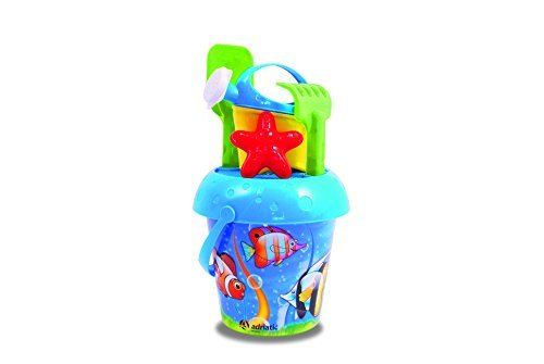adriatic-20-x-33-cm-beach-toys-acquario-lithography-bucket-with-watering-can-by-adriatic