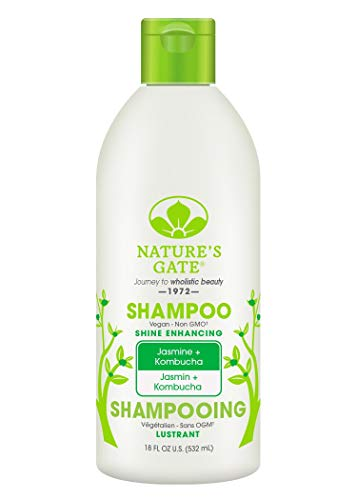 (Nature's Gate Jasmine + Kombucha Shine Enhancing Shampoo, 18 Fluid Ounce)