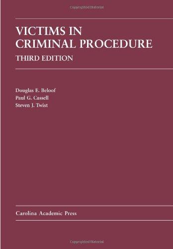 Victims in Criminal Procedure