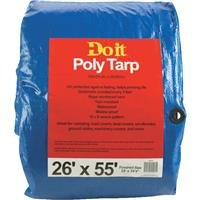 Med Duty Tarp (Do It Best Gs Tarps: 26X55 Blue Med Duty Tarp, 736236 2PK)