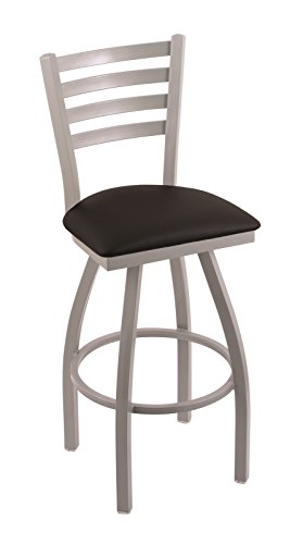 "31Pavcu40PL - 410 Jackie 25"" Counter Stool with Anodized Nickel Finish and Swivel Seat"
